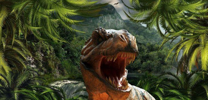 Dinosaure pour le thème de l'anniversaire