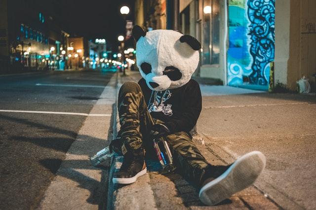 costume panda Kigurumi
