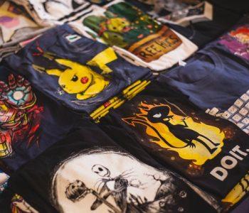 Des tshirts pour tous les fans de manga
