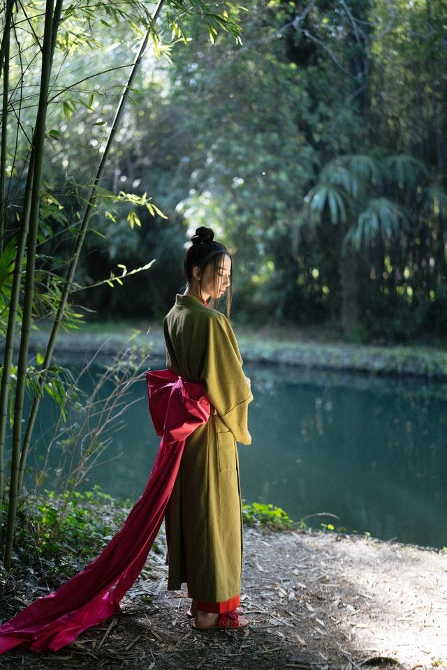 style kimono dragon